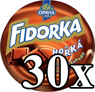 FIDORKA - Dark Chocolate 30x