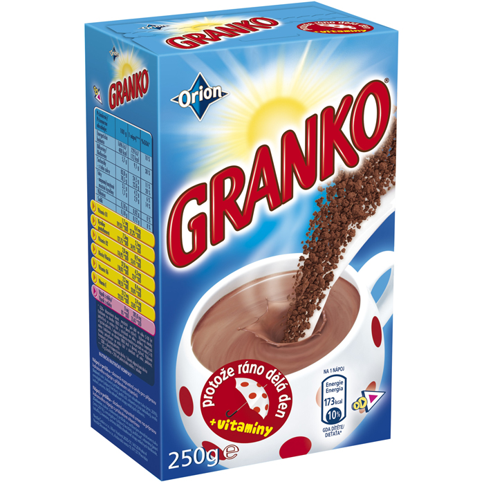 Granko - Chocolate - based Powder Drink 250g