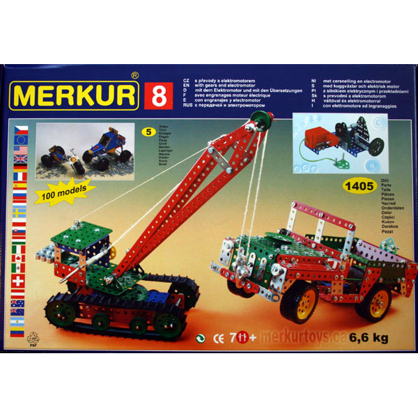Best - Merkur M8 - Construction Toy